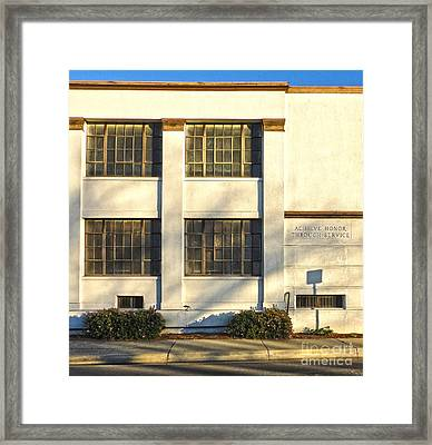 Chino Portuguese Hall Framed Print by Gregory Dyer