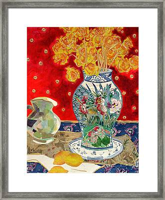 Chinoiserie Framed Print by Diane Fine