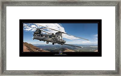 Chinook Framed Print by Larry McManus