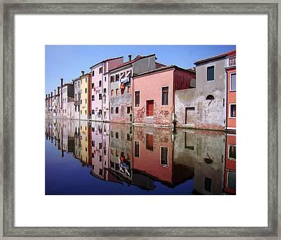 Chioggia Framed Print by Giorgio Darrigo