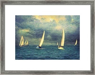 Chios Framed Print