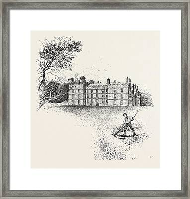 Chipchase Castle,  Is A 17th-century Jacobean Mansion Framed Print by English School