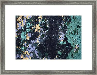 Chipped Paint Framed Print by Gretchen Lally