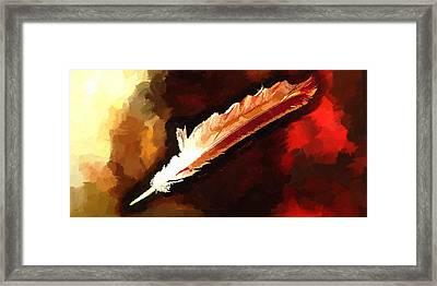 Chippewa Dreams Framed Print by Daniel Mowry