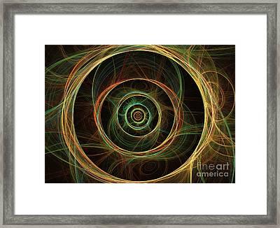 Chirality Framed Print by Kim Sy Ok