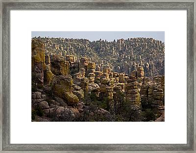 Chiricahua National Park - The Grotto 02 Framed Print