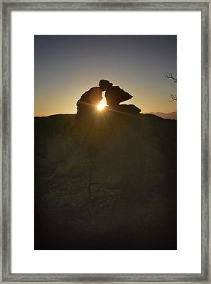 Chiricahua Sunset Framed Print