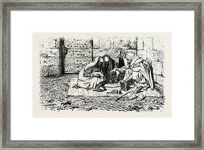 Chiromancy, The Art Of Characterization And Foretelling Framed Print by Litz Collection