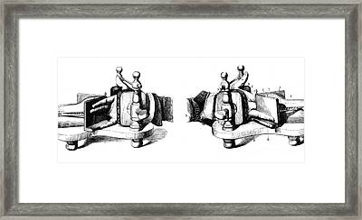 Chiroplast, Designed To Train Pianists Framed Print by Science Source