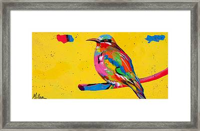 Chirp Chirp Framed Print by Tracy Miller