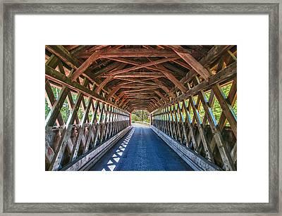 Chiselville Bridge Framed Print