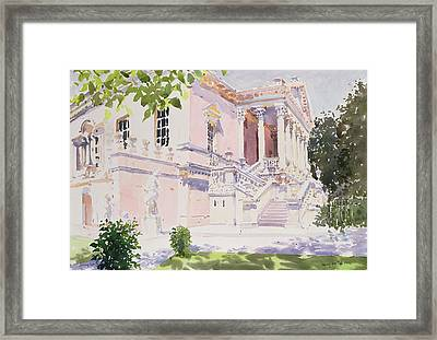 Chiswick House Framed Print by Lucy Willis