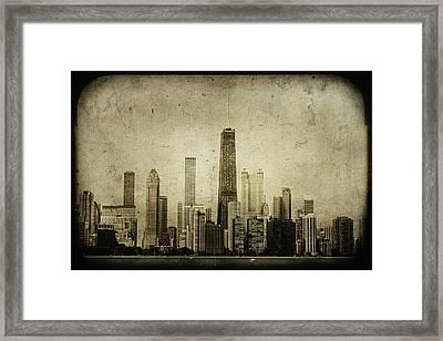Chitown Framed Print
