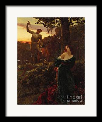 Knight In Shining Armour Framed Prints