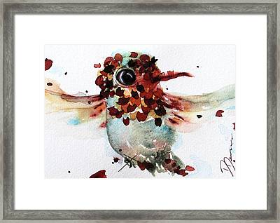 Chloe Framed Print by Dawn Derman