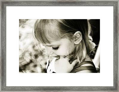 Chloe Framed Print by Debbie Howden