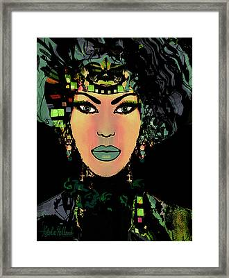 Chloe Framed Print by Natalie Holland