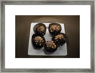 Chocolate 12 Framed Print