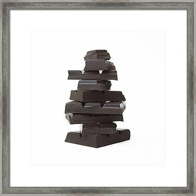 Chocolate Framed Print by Bernard Jaubert