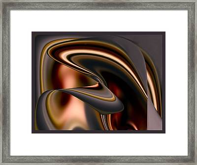 Chocolate Framed Print by Diane Dugas