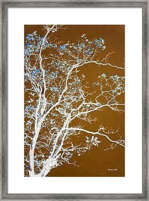 Chocolate Forest Tree Art Framed Print