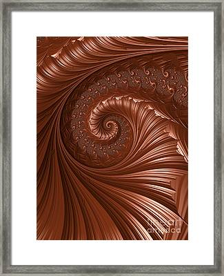 Chocolate  Framed Print by Heidi Smith