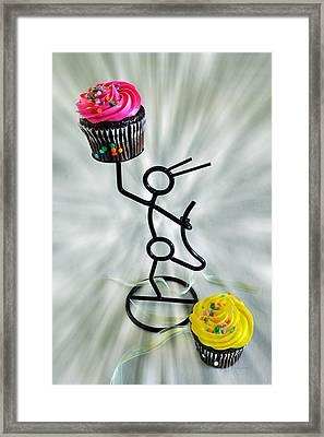 Chocolate Makes My Spirit Soar Framed Print by Kenny Francis