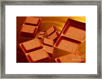 Chocolate Framed Print by Michal Bednarek