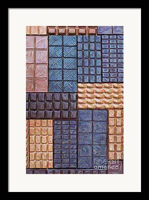 Bar Of Chocolate Framed Prints