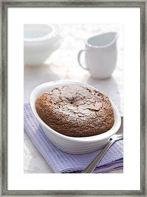 Chocolate Pudding Framed Print
