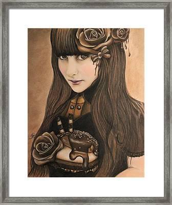 Chocolate Framed Print by Sheena Pike