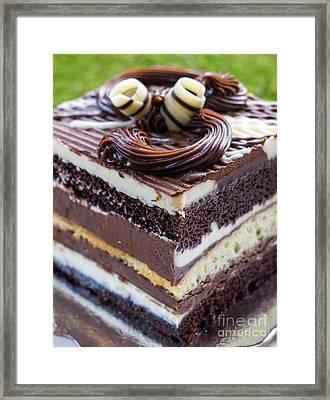 Chocolate Temptation Framed Print by Edward Fielding