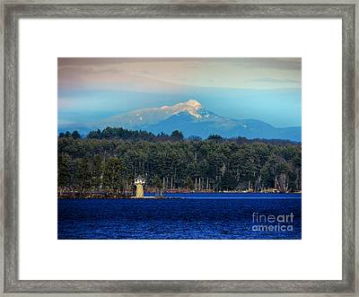 Chocorua And Spindle Point Framed Print