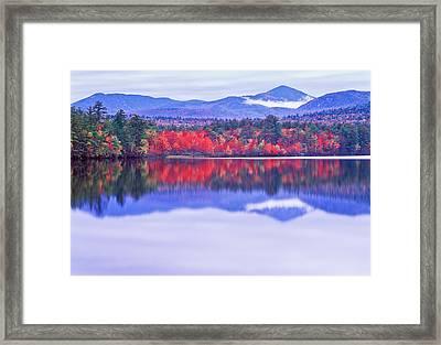 Chocorua Lake Framed Print by Michael Hubley
