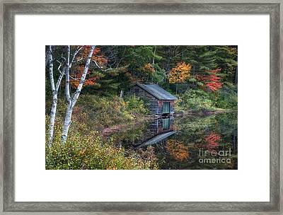 Chocorua Lake Reflection Framed Print by Scott Thorp