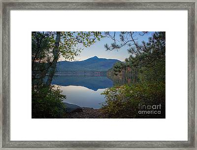 Chocorua Refletion Framed Print by Scott Thorp
