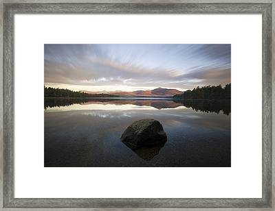 Chocorua Sunrise Framed Print by Eric Gendron