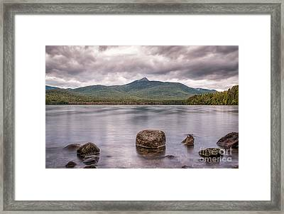 Chocorua Waterfront Framed Print by Scott Thorp