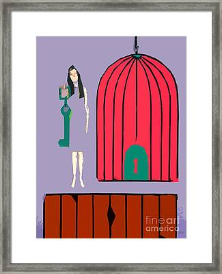 Choice Framed Print by Patrick J Murphy