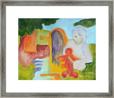 Choices- Caprian Beauty Series 1 Framed Print by Elizabeth Fontaine-Barr