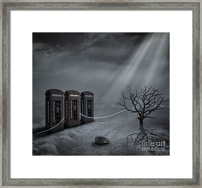 Choices Framed Print by Keith Kapple