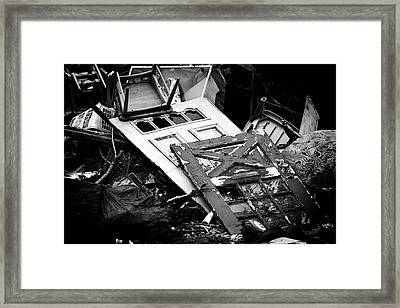 Choices Framed Print by Rebecca Sherman