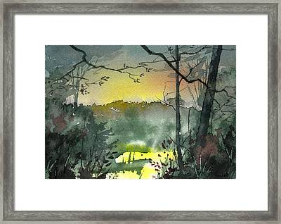 Framed Print featuring the painting Choices by Sean Seal
