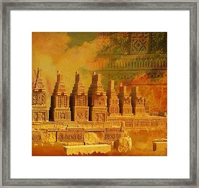 Chokhandi Framed Print