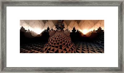 Choose A Path Framed Print by Ricky Jarnagin