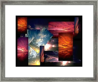 Choose Your Own Sunrise Framed Print by Darryl  Kravitz