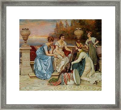Choosing The Finest Framed Print by Frederick Soulacroix