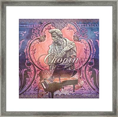 Chopin Framed Print by Mo T