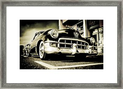 Chopped Cadillac Coupe Framed Print