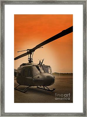 Chopper Framed Print by M K  Miller